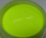 Neon yellow acrylic powder 4g /042/
